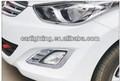 2013 Hyundai elantra luz cromada do eyelash dos carros/carro acessório/tuning y styling/ABS plasticos y cromo y 3M fita ade