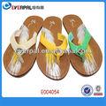 señoras zapatillas elegante apartamento de lujo de cuero zapatillas
