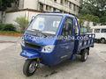chino de 3 ruedas de cabina cerrado triciclo motorizado con la rueda de dirección