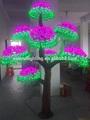Diodo emissor de luz da árvore de natal novo feriado/jardim/de rua ao ar livre decorativa cogumelo artigos para festas