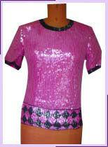 Diseñador de blusas& | tapas de las señoras blusa de cuentas