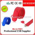 Memorias USB Models Pendrives USB Pulseras USB PULSERA Personalizan Con El Logo o el Concepto