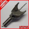 Bits de herramientas de 22 mm de alta precisión de metal duro bolas cuchillo para trabajar la madera Granos de madera herramient