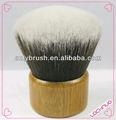pelo sintético bambú cepillo de kabuki