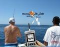 Buscador de los pescados inalámbrico con sensor de Sónar con 2,8 pulgadas de pantalla