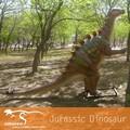Outdoor escultura dinossauro impermeável
