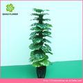 rodada de folhas para a decoração de árvores bonsai artificial artificial árvore