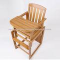 En 2 1 composable muebles de bambú, plegable muebles de bebé, bebé silla conjunto
