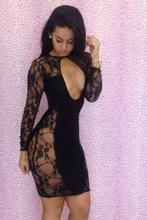 caliente la venta de gran tamaño vestido de encaje