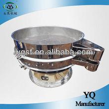 Tamiz vibratorio circular de la mejor maquinaria del polvo de la máquina de Yongqing