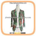 2013 nueva dama formal pliegues de gasa de prendas de vestir