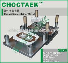 la conexión de contenedor de molde