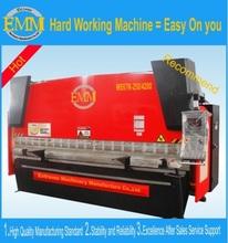 WC67K série hydraulique métal machine de pliage de la presse plieuse de tôle
