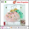 venta caliente grande punto coreano de bebé niña faldas de tul