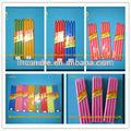 coloridos de papel celofane embaladas vela colorida