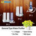 tapa de la mesa para el hogar de filtración de agua del sistema purificador