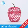 crochet artesanato caixa de morango