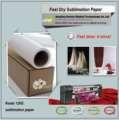sublimação rolo de papel, 3d sublimação de transferência rápida de calor seco