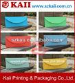 de negocios sobres de color de tamaño personalizado y el diseño de sobres de papel