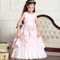 Nouveau soft été, princesse, belle fille fleur robes de soirée 12 ans