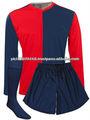 Venta al por mayor de fútbol personalizada uniformes/señoras personalizado uniformes de fútbol