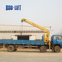 ton 10 camião braço telescópico máquina do guindaste para a venda com certificado do ce sq10sa3