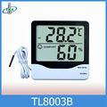 Termómetro Higrómetro Digital Doble Temperatura Con Sonda