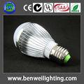 Bombilla LED de 5W de consumo Casquillo E27 (tipo estándar)
