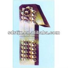 la placa de la cadena de elevador de cangilones