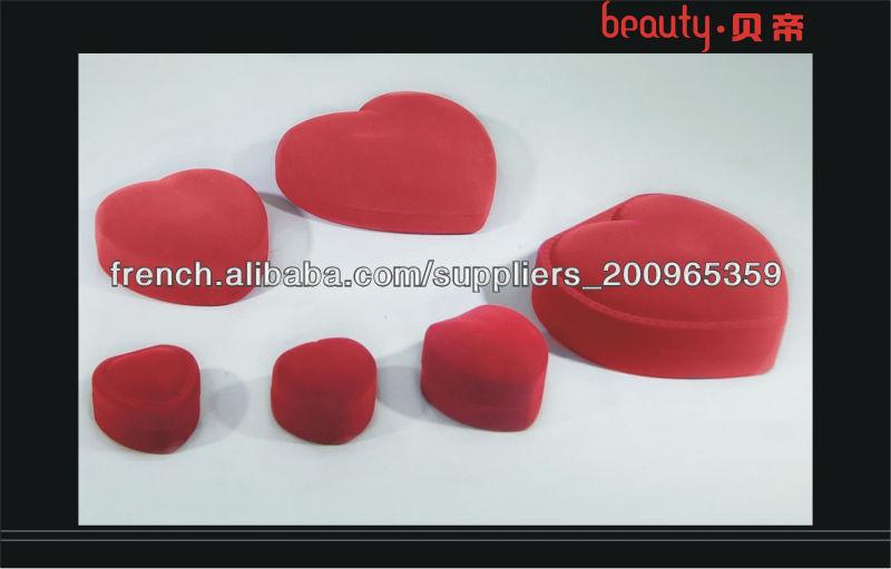 Coeur forme de la main bo te en plastique pas cher de - Bonbonniere plastique pas cher ...