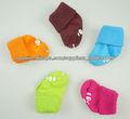 la moda 100 algodón calcetines de bebé