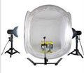 equipo de fotografía 40cm ronda caja de luz kit de fotos para la iluminación de estudio