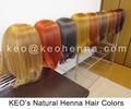 color de cabello alheña orgánica