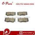 Pastillas De Freno Para Toyota Hilux LAN25 04465-0k240 De China Proveedor Carro Chasis Partes Genuino