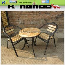 moderno de madera mesa de restaurante silla