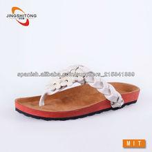 Señoras zapatillas de cuero sexy