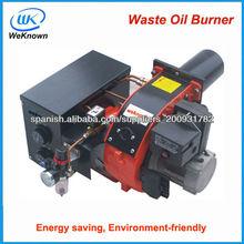 residuos quemador de aceite