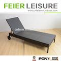 muebles de playa con la rueda