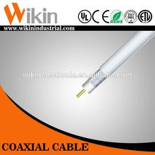 cable coaxial para la televisión por cable de la antena de satélite
