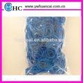 el color de moda de goma banda telar para regalo de los niños