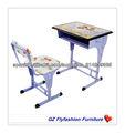 Guangzhou Flyfahsion 2013 venta caliente Kid 's escritorio y silla/mesa y sillas para niños