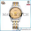 2014 KASINY 5012 oro de acero inoxidable de nuevo con el reloj mans calendario es ciudadanos reloj