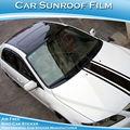 1.52x30m 3 camadas de alto brilho preto carro teto solar panorâmico etiqueta