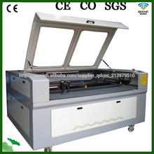 co2 cortadora láser textil /máquina de corte láser de tela QD-1610