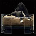 hermosa cama del animal doméstico de acrílico