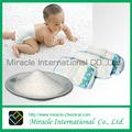 MSDS / SGS Polímero súper absorbente (SAP) para los pañales