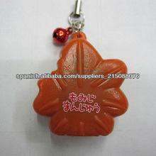 goma clave cadena, bolso o teléfono móvil decoración llavero
