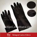 la industria de usar guantes