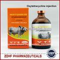 veterinaria oxitetraciclina de antibióticos inyectables de inyección para los animales