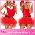 nuevo diseño de venta al por mayor de navidad de santa claus miss sweetie traje de futuro